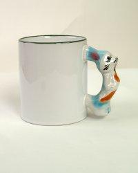 Hrnček biely detský s uškom zvieratka-zajko 9d0739c9338