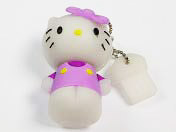 USB flash disk Kitty fialová 4 GB zn. PROPAG